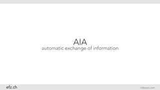 AIA - automatic exchange of information between countries